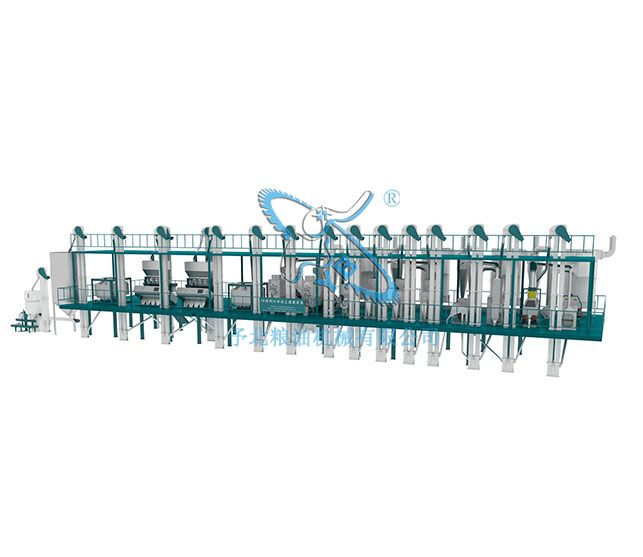 ISO认证大米加工设备线