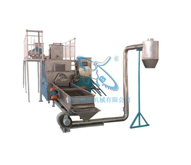 黄金米加工设备生产线