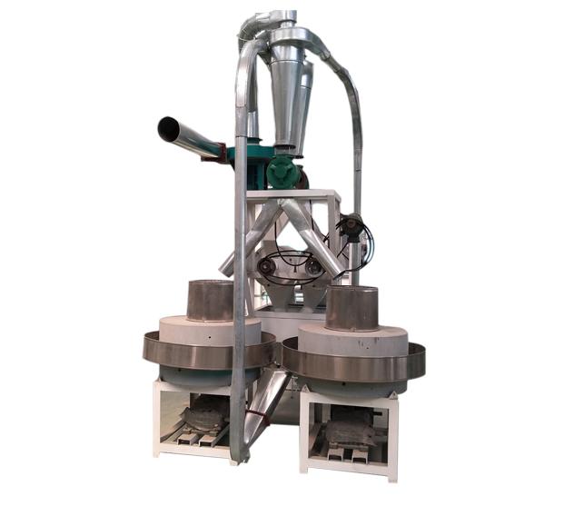 石磨制粉单机