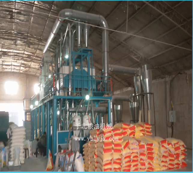 50吨玉米加工机械