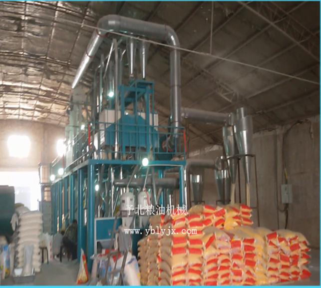 玉米提配制糁成套设备