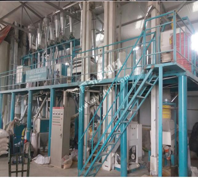 玉米加工成套机械