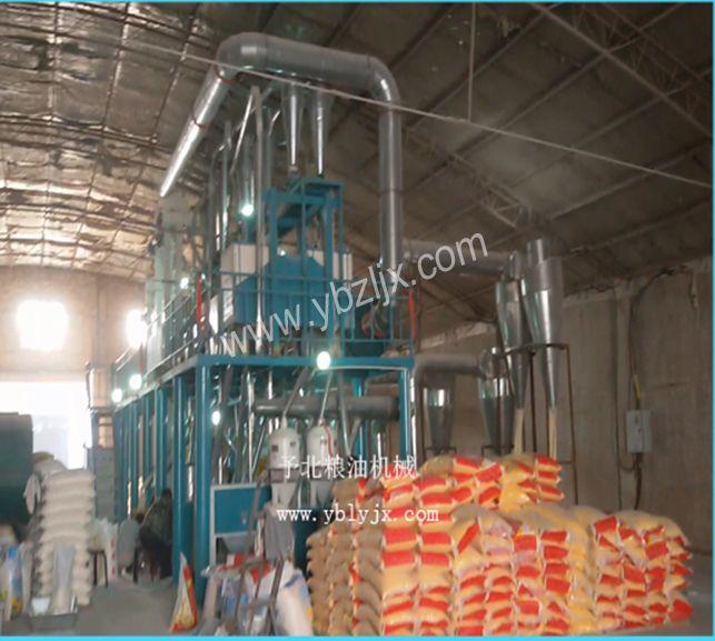 玉米糁加工机组