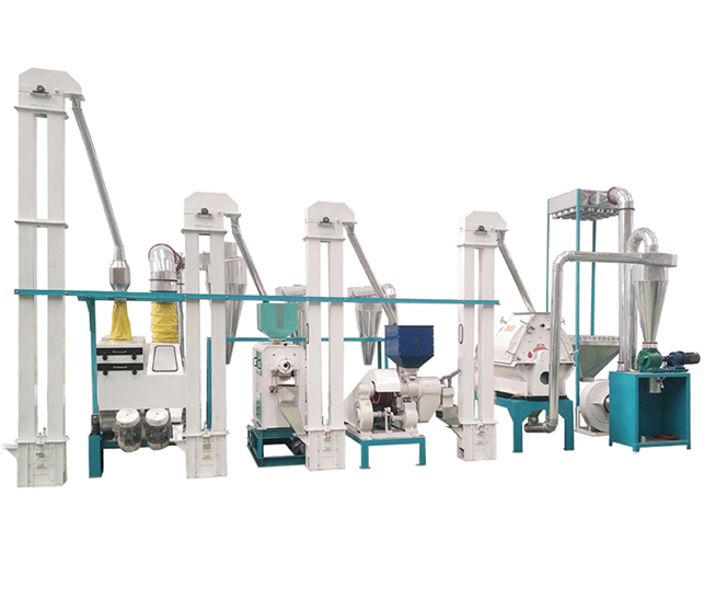 10T玉米制粒加工设备