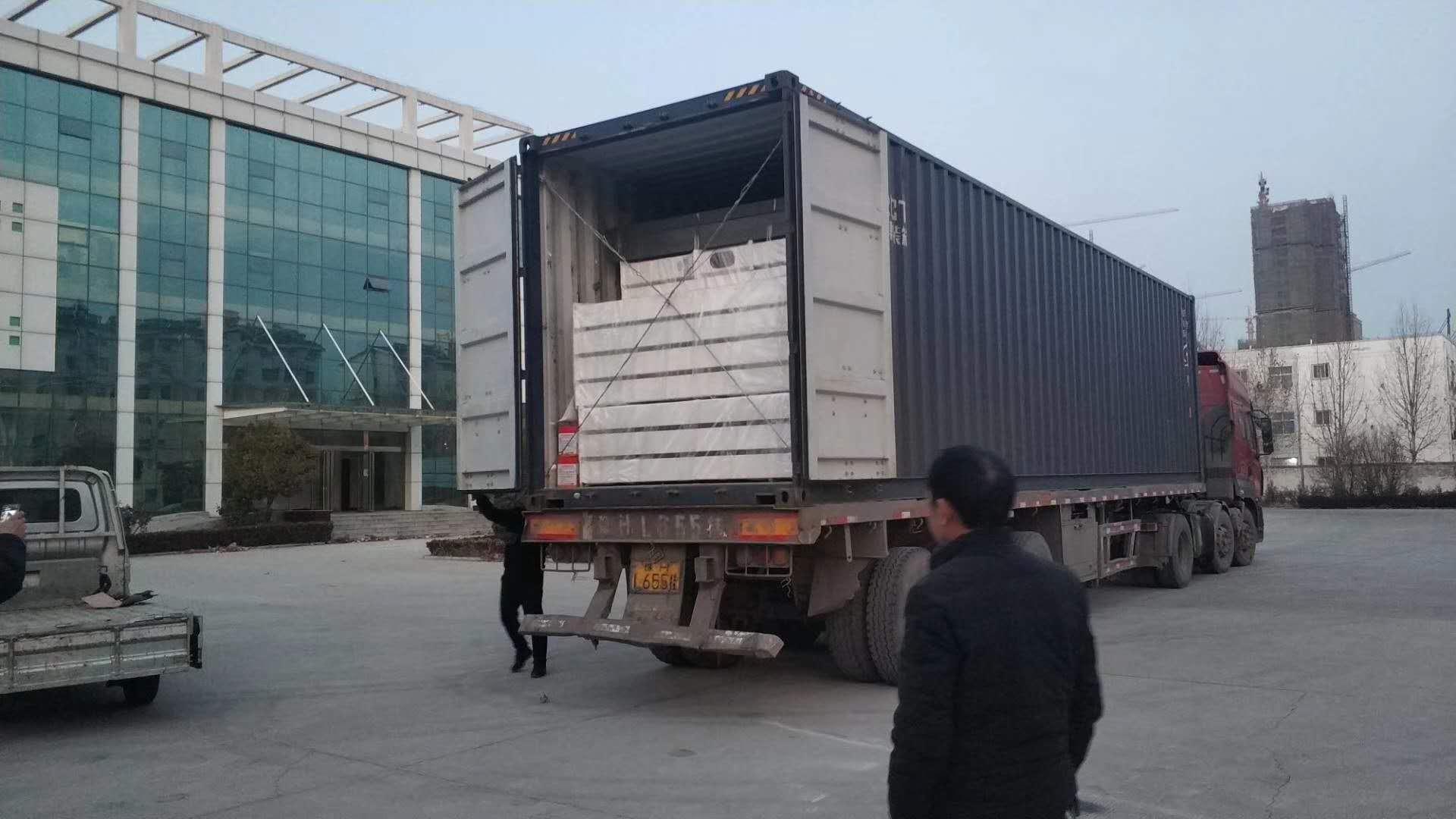 哈萨克斯坦的30T大米加工设备装箱发货了!
